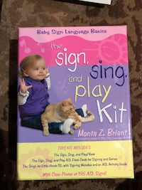 Sign language book for kids Montreal, H3M 2G9