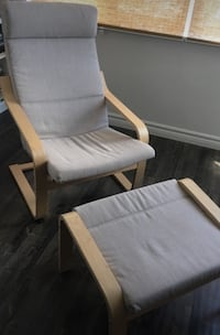 Ikea Poang Chair & Foot rest Mississauga