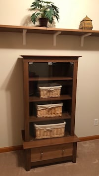 Display Entertainment Cabinet with Drawer Woodbridge, 07095