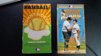 Vintage MLB Bloopers & Follies VHS Tapes Toronto