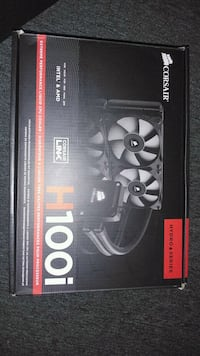 Corsair link H100i  brand new in box never been us Surrey, V3R 1W1