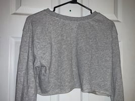 Garage long sleeve cropped top