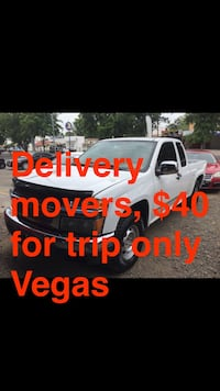 Delivery movers $40 for trip Only vegas Las Vegas, 89121