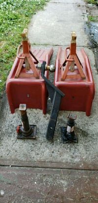 two red and gray metal tools Jensen Beach, 34957