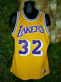 Johnson Mitchell & Ness Los Angeles Lakers Jersey 2276 mi