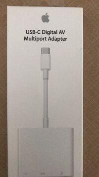 USB-C DIGITAL AV ADAPTER (APPLE) Toronto, M4P 2E7