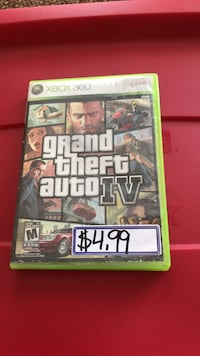 Grand Theft Auto IV Xbox 360 game case Burlington, L7M