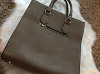 Women's taupe leather tote bag- DSW Bakersfield, 93309