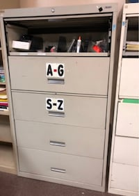 Lateral File Cabinets 2 of them $65 Ea
