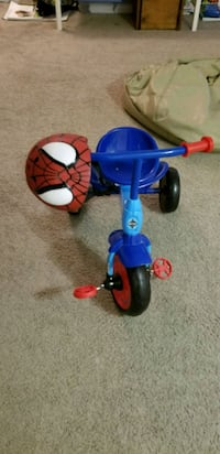 Spiderman Tricycle with Spiderman Helmet Alexandria, 22306
