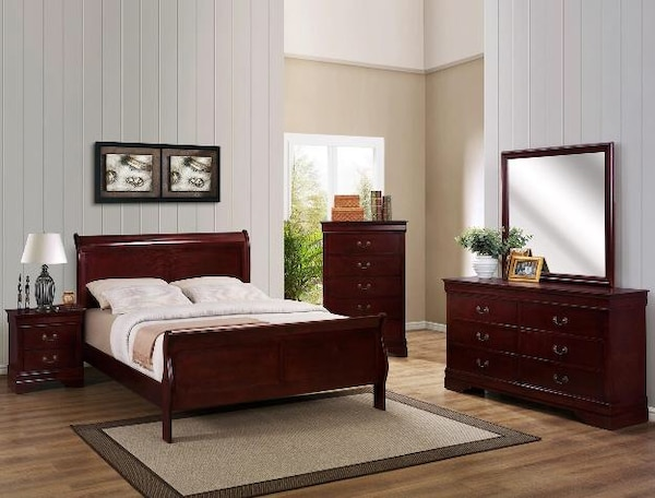 Used brand new queen 4 piece bedroom suite for sale in - Used queen bedroom sets for sale ...