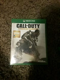 Call of Duty Advanced Warfare Xbox One game case 862 mi