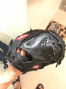 Baseball catcher glove