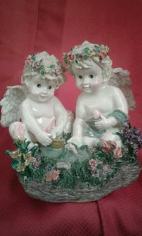 hand painted and crafted cherubs  Lynn Haven