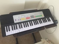black and white electronic keyboard Chico, 95973