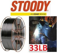 "STOODY OPEN ARC WELDING WIRE    1/16"" 33LB BRAND NEW!!! Model #: 11304900   VIEW MY OTHER ADS!  Vaughan"