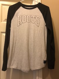 Roots long sleeves size SMALL ladies  St Thomas