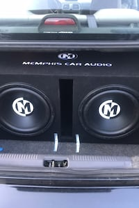 memphis car audio subs and amp. price is negotiable.  Fort Mill, 29708