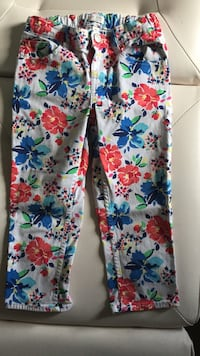 Childrens   size 10 girls floral crop jeans Long Beach, 11561