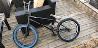black and blue BMX bike Regina, S4R 5Y7