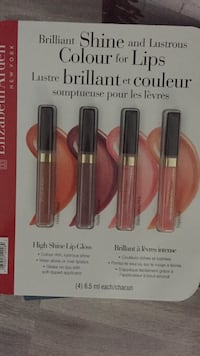 Four assorted color Lip Gloss