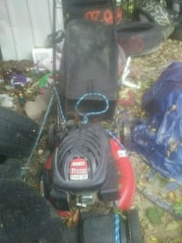 black and red push mower Plainfield, 06354
