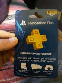 PlayStation plus card 12 month