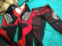 red, black, and white motocross pants Las Cruces, 88011