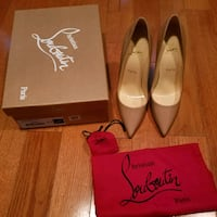 Christian Louboutin's So Kate Nude Patent 38.5 Seattle, 98178