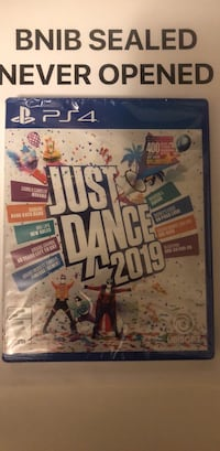 Sony PS4 just dance 2019 Brampton, L7A 2Z3