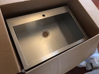 "Kitchen sink 33x22"" 9"" deep Woodbridge, 22192"