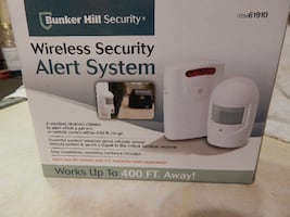 WIRELESS DRIVEWAY SECURITY ALERT SYSTEM- NEW - $1