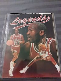 Michael Jordan legends vol 4 #2 1991 Oklahoma City
