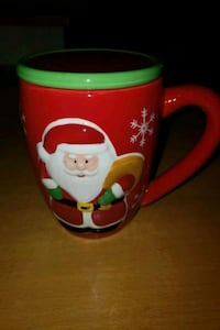 Santa Coffee mug with lid