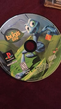 A bugs life ps1 game  Chester