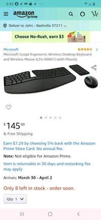 Computer keyboard/mouse