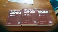 2002 Service Manual Set Caledon, L7C 2H3