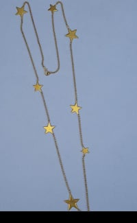 Gold plated star shaped necklace  Woodbridge, 22193