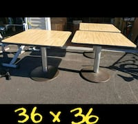 SQUARE TABLES ((((  $50 EACH )))) Bel Air, 21014