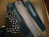 Size 5 skinny jeans and a legging Bromley, 41016