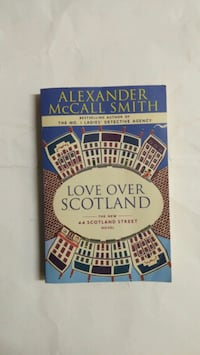 Love over Scotland by Alexander McCall Smith paperback book