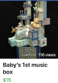 Baby's 1st music box Vaughan, L6A 2S1
