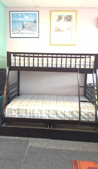New in box bunk bed twin over full comes with mattress $499  Nashville, 37211