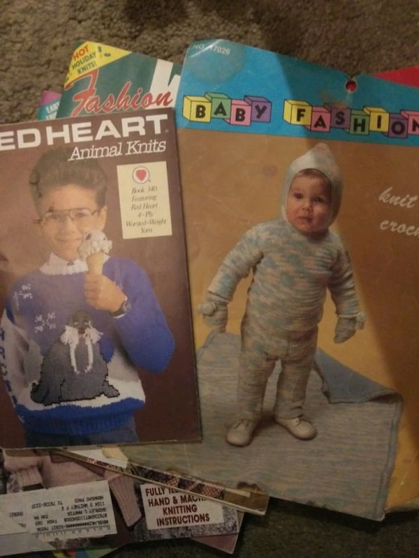 Old knitting magazines from 90's  f317c194-3bbf-418d-8a2e-e3707d7f094e