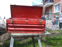 red and black tool chest Laval, H7W