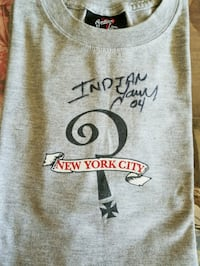 Autographed Indian Larry T-shirt  Creston, 50801