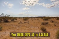 10 Acres for Sale. Owner Financing Available! Twentynine Palms