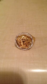 10K 2.8G Custom madusa ring with cz stones Toronto, M6S 2S1