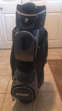 black and gray golf bag Vienna, 22180