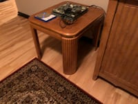 Wood Side Table and TV Stand  Urbandale, 50323